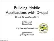 Florida DrupalCamp 2012 - DrupalCon Munich 2012