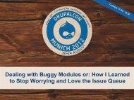 Learn Through the Issue Queue.pdf - DrupalCon Munich 2012