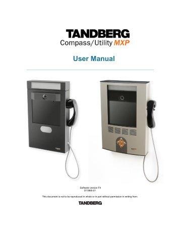6000 mxp portable tandberg video conferencing video rh yumpu com tandberg 6000 mxp installation guide TANDBERG Profile 52 6000 MXP