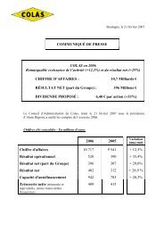 Projet de communiqu de presse - Bouygues