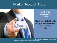 Nuclear Power in South Africa Market 2025 - Capacity, Generation
