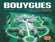 Annual Report - Bouygues