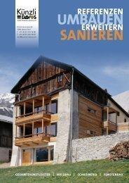 Referenzen Holzbau Umbauen, Erweitern und Sanieren