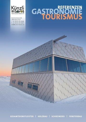 Referenzen Holzbau Gastronomie und Tourismus