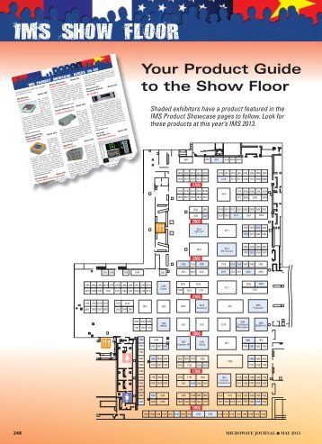 Your Product Guide to the Show Floor - Microwave Journal