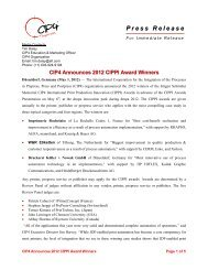 CIP4 Announces 2012 CIPPI Award Winners - Publishing Network