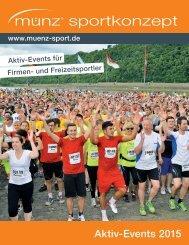 münz sportkonzept - Aktiv-Events 2015