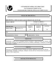 Multiprocessamento e Sistemas em Tempo Real - Faculdade de ...
