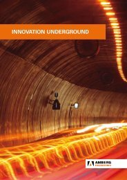 InnovatIon underground - Amberg.com.sg