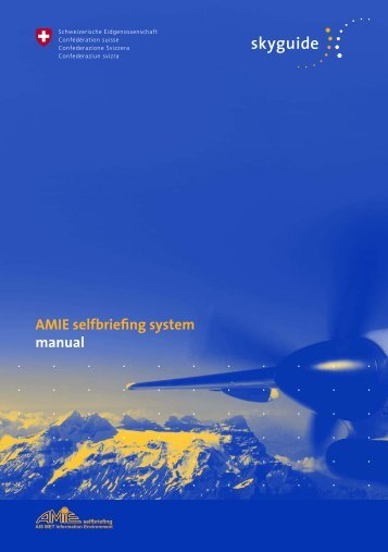 AMIE Self-Briefing - Homebriefing