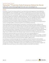 Symantec™ Protection Suite Enterprise Edition für Server