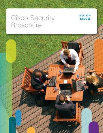 Cisco Security Broschüre