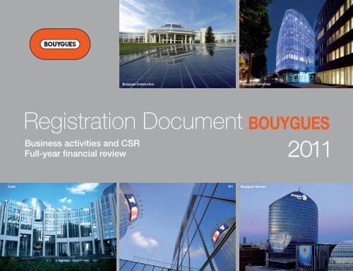 Registration Document Bouygues