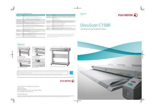 DocuScan C1500 - Fuji Xerox Malaysia