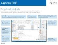 Outlook 2013–Schnellstarthandbuch.PDF - co.Tec