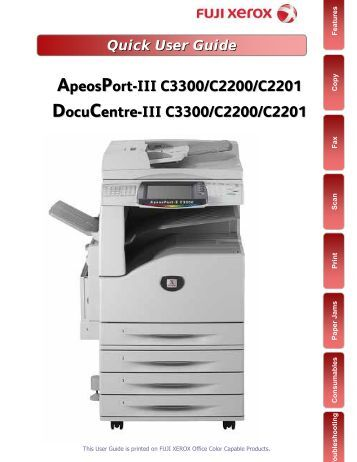 How To Scan Using Fuji Xerox Printer