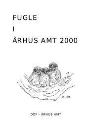 Fugle i Århus Amt 2000 - DOF Østjylland
