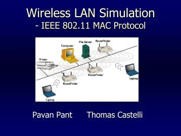 Wireless LAN Simulation - ipsit