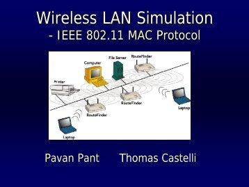 Wireless LAN Simulation - ipsit
