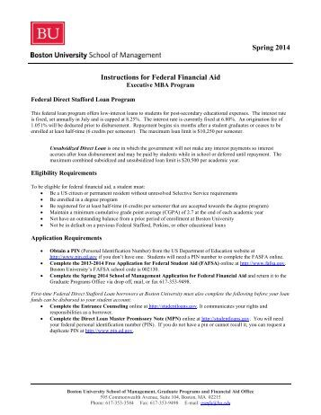 Summer 2012 William D. Ford Federal Direct Loan Request Form