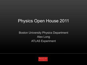 Alex Long - Boston University Physics Department.