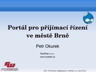 Prezentace portálu pro přijímací řízení ve městě Brně - Drupal.cz