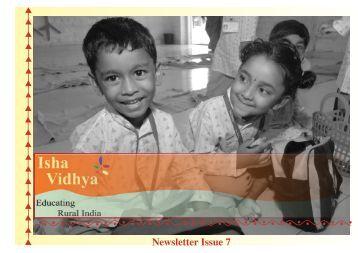 Newsletter Issue 7 - Isha Vidhya