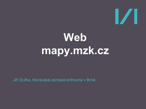 Mgr. Jiří Dufka, Moravská zemská knihovna (.pdf - SKIP