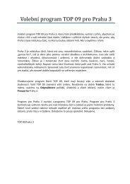 Volební program pro Prahu 3.pdf - TOP 09