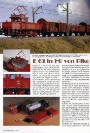 E63, Eisenbahn Journal 07/99, S. 76 - Piko