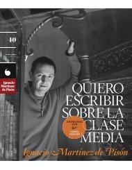 QUIERO ESCRIBIR SOBRE LA CLASE MEDIA - Revistas Culturales