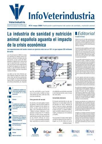 La industria de sanidad y nutrición animal española ... - Veterindustria