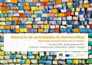 Memoria de actividades de Ibermovilitas