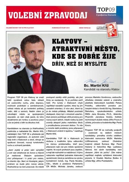 Volební program pro Klatovy.pdf - TOP 09