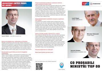 Co prosadili naši ministři.pdf - TOP 09