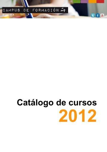 Catálogo de cursos - Aupex