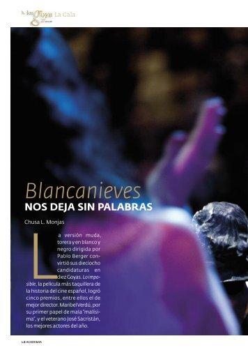 Blancanieves NOS DEJA SIN PALABRAS - Revistas Culturales