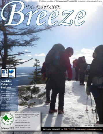 February Breeze - Appalachian Mountain Club, Southeastern ...