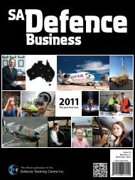 The year that was - Defence Teaming Centre Inc