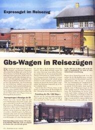 Gbs für Reisezüge, Eisenbahn Kurier 12/01 - Piko