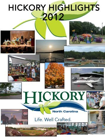 Hickory Highlights 2012 front and back pages.pub - City of Hickory