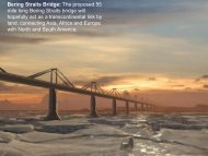 Bering Straits Bridge: The proposed 55 mile long Bering ... - The Works