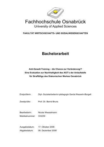 Bachelorarbeit im PDF-Format - Lars Geisler Training || Willkommen