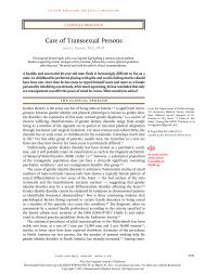 Transsexualism a review of etiology diagnosis and treatment