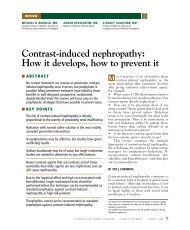 Contrast-induced nephropathy: How it develops, how to prevent it
