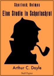 Sherlock Holmes – Eine Studie in Scharlachrot: Vollständige & Illustrierte Fassung (HD)
