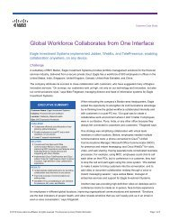 Cisco Jabber for Windows: Enterprise Collaboration Made Simple