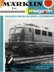 Dokumentation Maerklin Magazin 1965 - 1985 - 3Rotaie.it