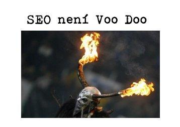 SEO není Voo Doo - Drupal.cz