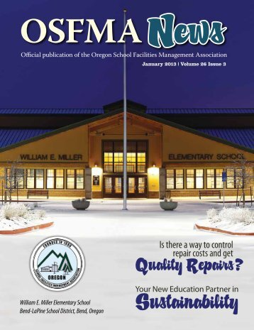 Winter 2013 Vol 26 Issue 3 - OSFMA